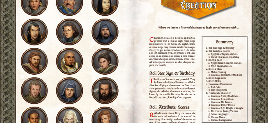 Character Creation in ADOM RPG
