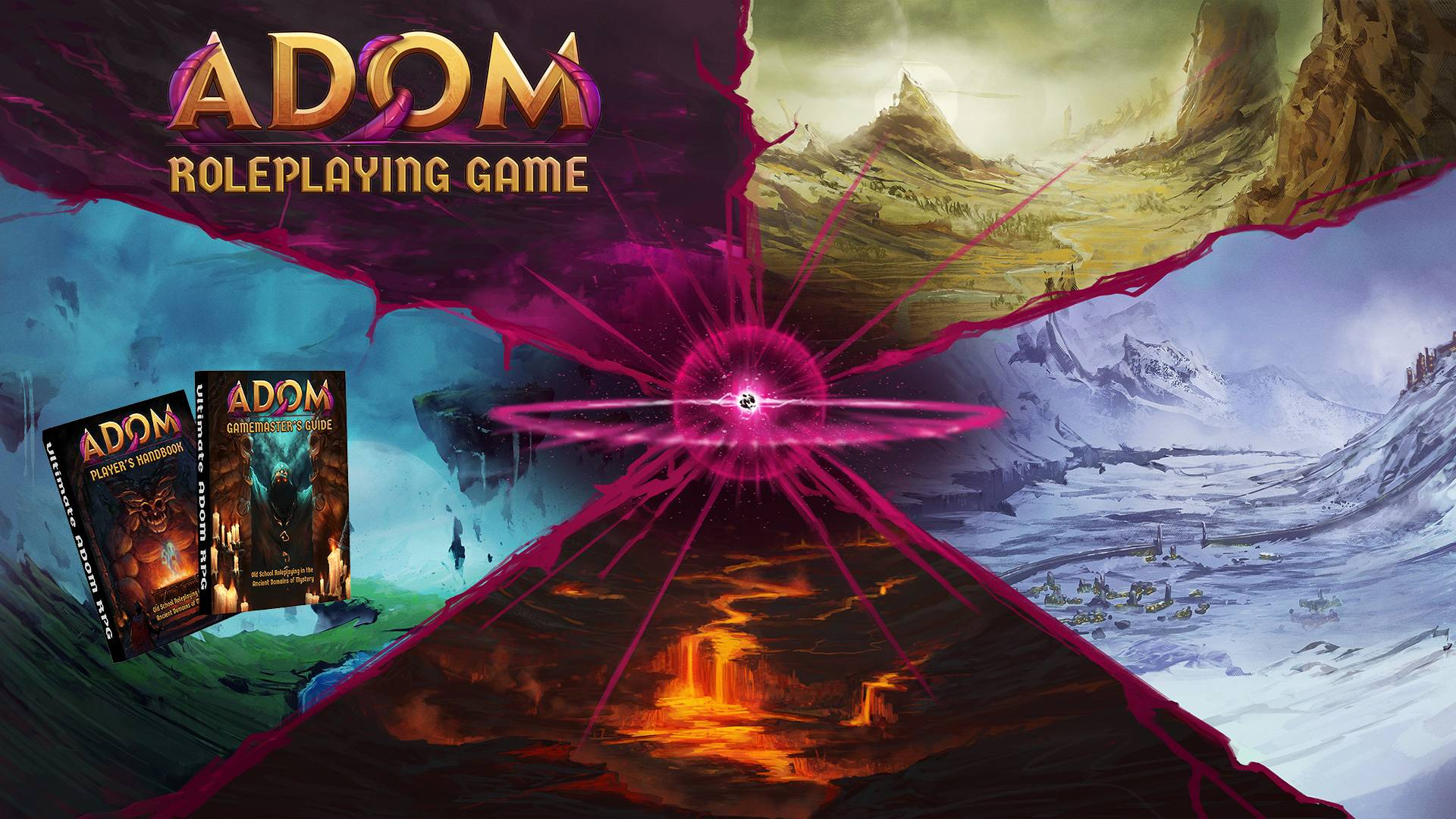 ADOM Roleplaying Game – A Modern Fantasy Roleplaying Game With An