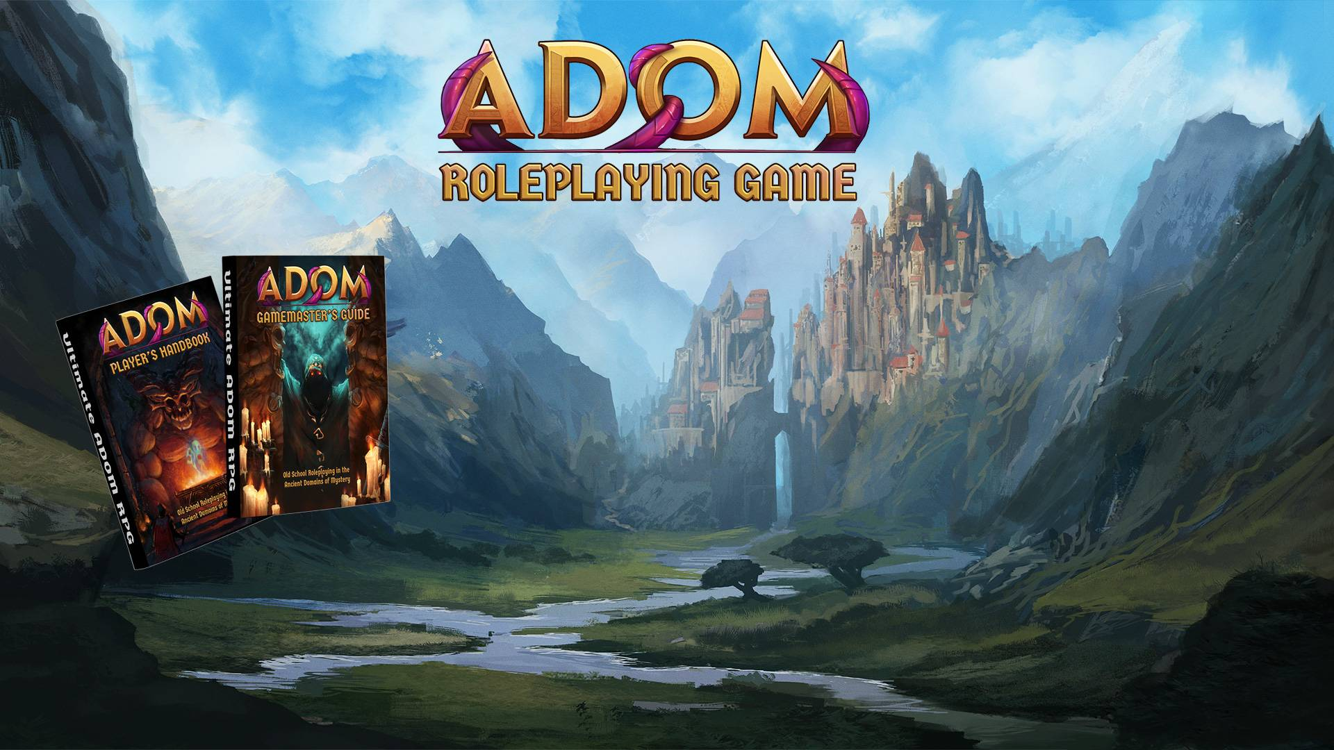 ADOM Roleplaying Game – A Modern Fantasy Roleplaying Game